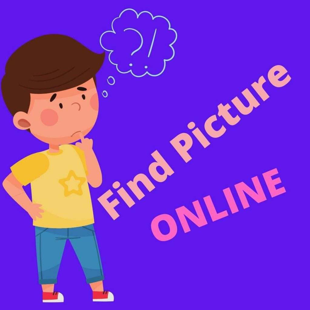 finding picture online