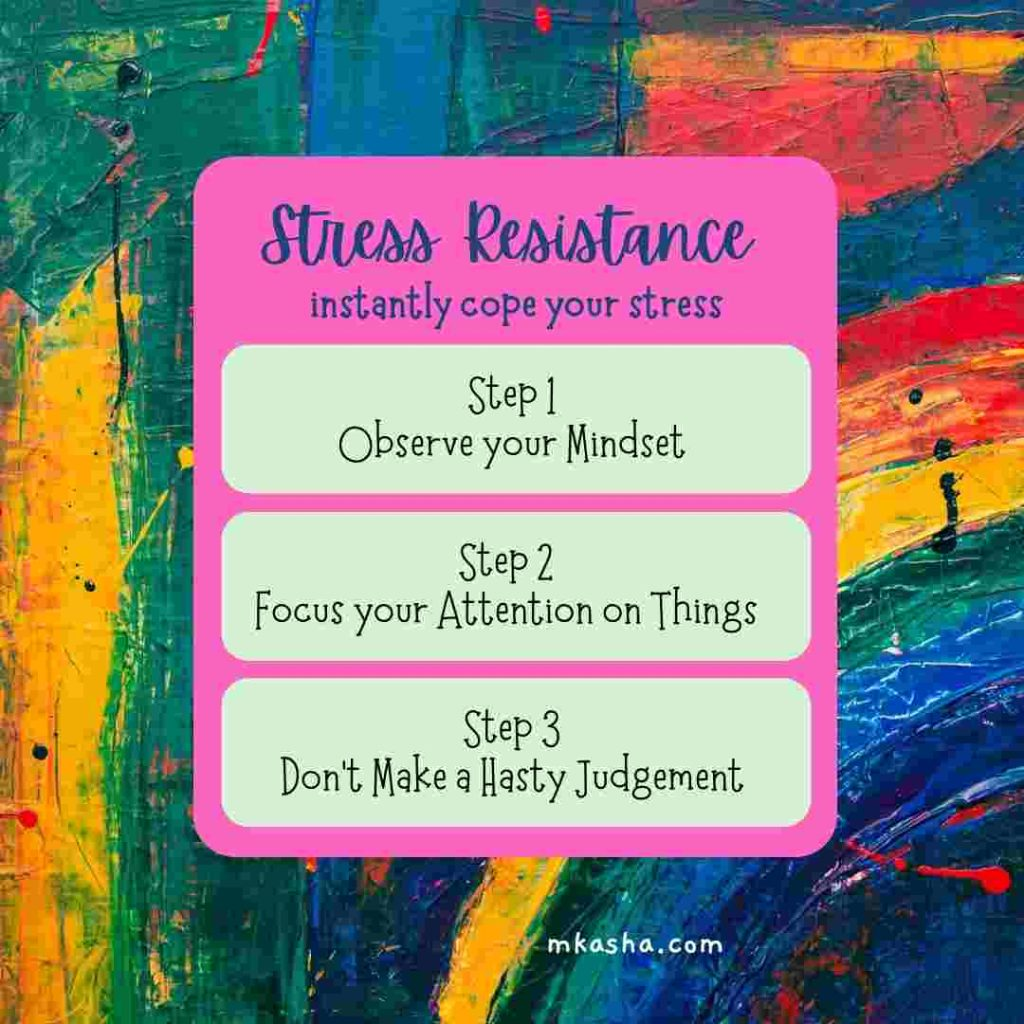 Tips for Stress Resistance